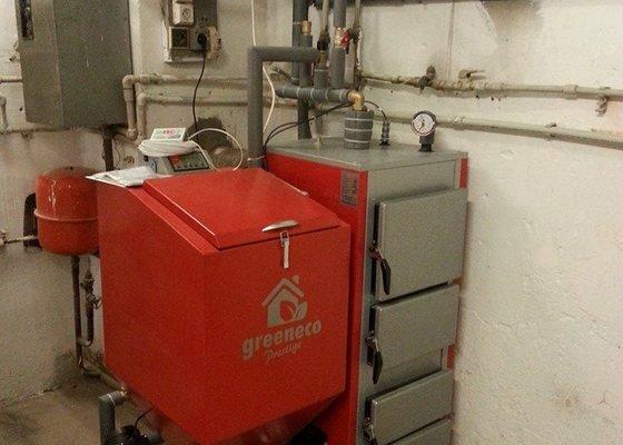 Prodej a připojení Automatického kotle Greeneco 20 kw