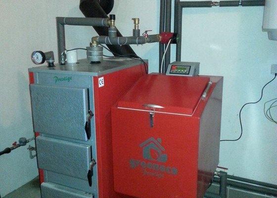 Prodej a připojení Automatického kotle Greeneco 25 kw