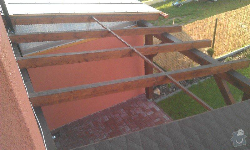 Zakrytí střechy polykarbonátem: IMAG0837