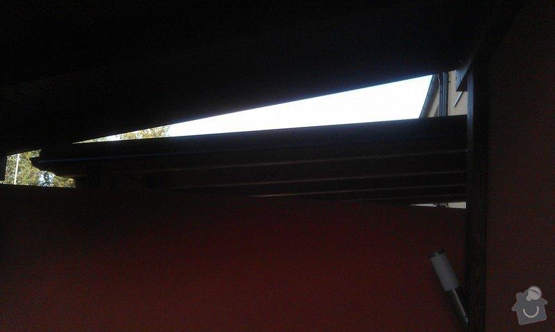 Zakrytí střechy polykarbonátem: IMAG0838