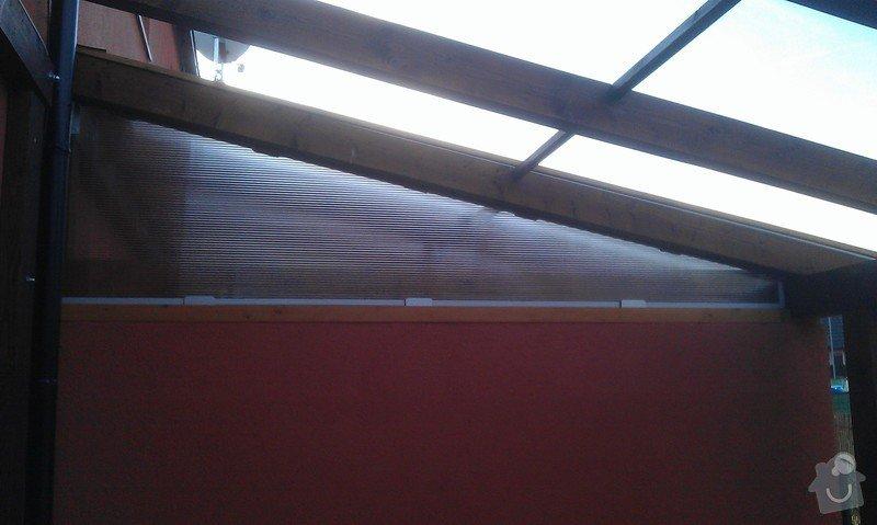 Zakrytí střechy polykarbonátem: IMAG0839