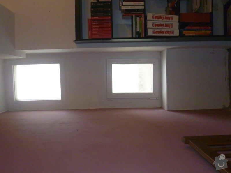 Zateplení/úprava tenké vnitřní zdi: P1050495