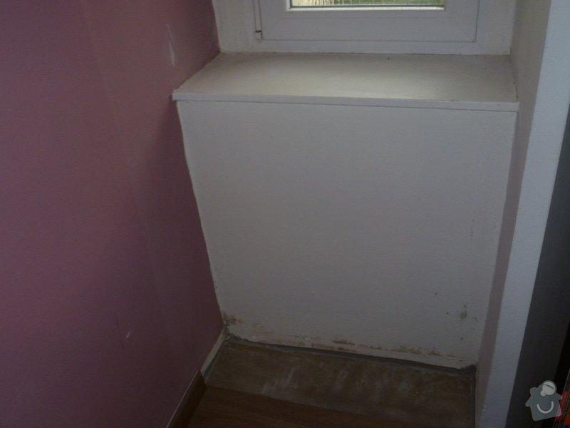 Zateplení/úprava tenké vnitřní zdi: P1050496