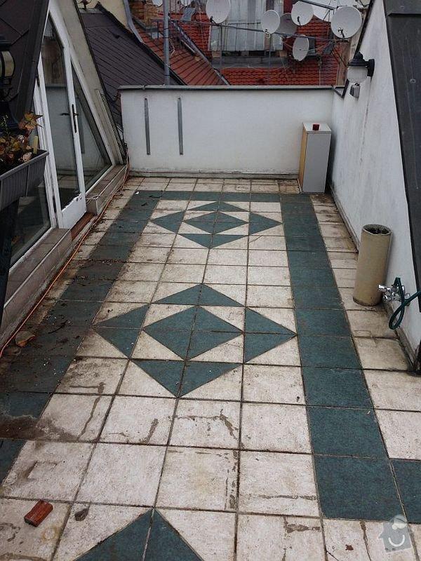 Izolace terasy, cca 40 m2: terasa1