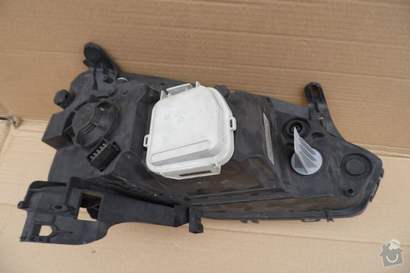 Náhradní díly světlometu Opel Corsa: svetlomet-zadek