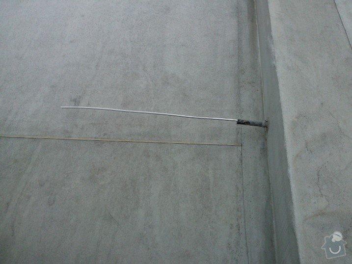 Instalace hromosvodu na novostavbě RD: WP_002351