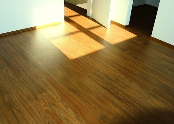 Pokládka vinylové podlahy Floor Forever Primero Click 163 m2