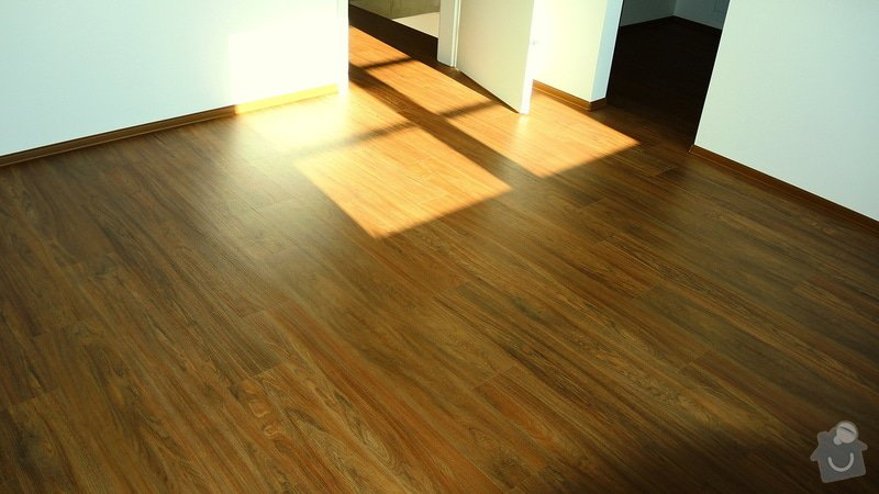 Pokládka vinylové podlahy Floor Forever Primero Click 163 m2: DSCN2007