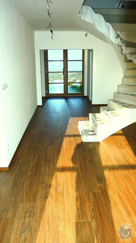 Pokládka vinylové podlahy Floor Forever Primero Click 163 m2: DSCN2024