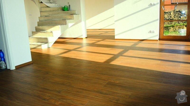 Pokládka vinylové podlahy Floor Forever Primero Click 163 m2: DSCN2025