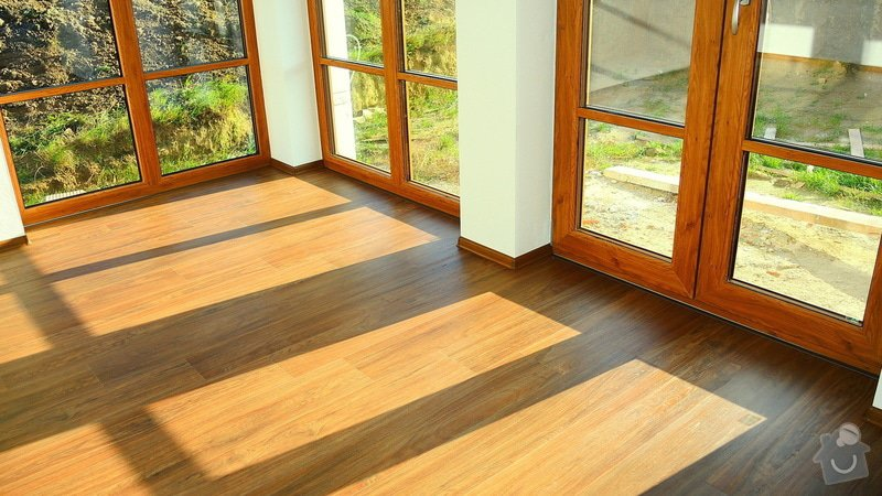 Pokládka vinylové podlahy Floor Forever Primero Click 163 m2: DSCN2030