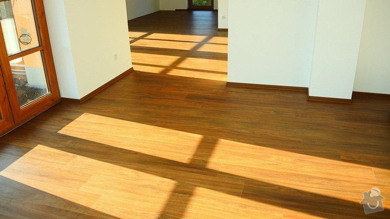 Pokládka vinylové podlahy Floor Forever Primero Click 163 m2: DSCN2032