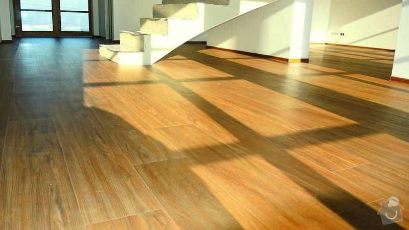 Pokládka vinylové podlahy Floor Forever Primero Click 163 m2: DSCN2033