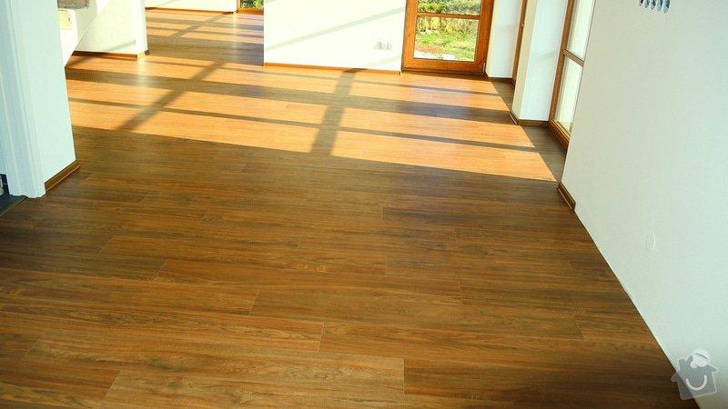 Pokládka vinylové podlahy Floor Forever Primero Click 163 m2: DSCN2035