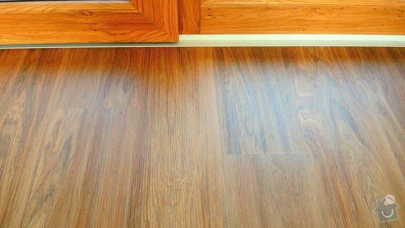 Pokládka vinylové podlahy Floor Forever Primero Click 163 m2: DSCN2037