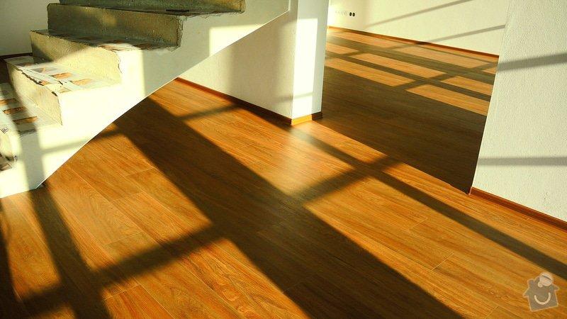 Pokládka vinylové podlahy Floor Forever Primero Click 163 m2: DSCN2045
