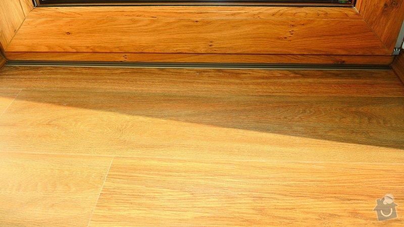 Pokládka vinylové podlahy Floor Forever Primero Click 163 m2: DSCN2049