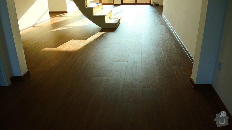 Pokládka vinylové podlahy Floor Forever Primero Click 163 m2: DSCN2065