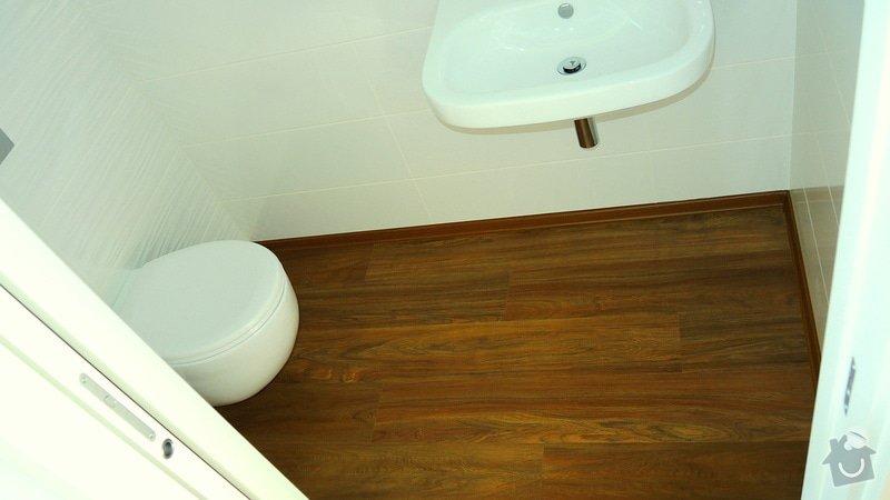 Pokládka vinylové podlahy Floor Forever Primero Click 163 m2: DSCN2022