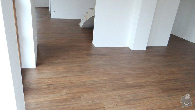 Pokládka vinylové podlahy Floor Forever Primero Click 163 m2: DSC05570