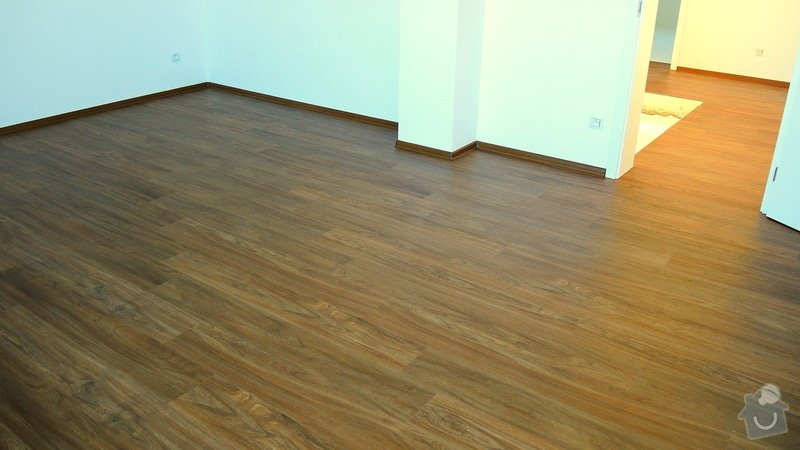Pokládka vinylové podlahy Floor Forever Primero Click 163 m2: DSCN2017