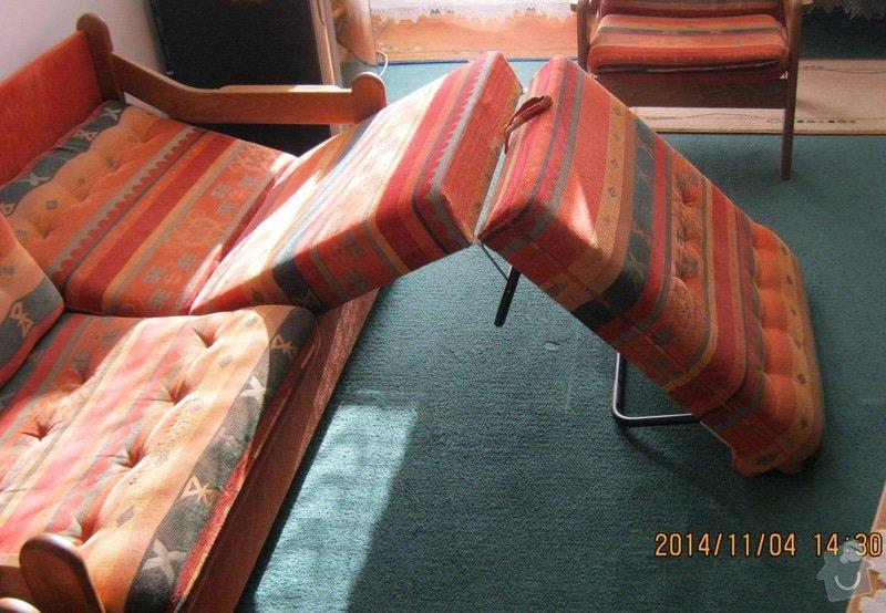 Čalounické práce (sedací souprava +2x křeslo) : c.3