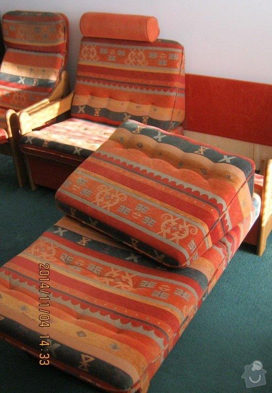 Čalounické práce (sedací souprava +2x křeslo) : c.4