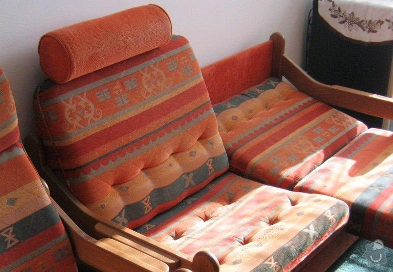 Čalounické práce (sedací souprava +2x křeslo) : c.5