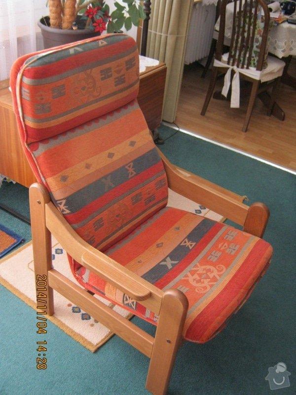 Čalounické práce (sedací souprava +2x křeslo) : c.6