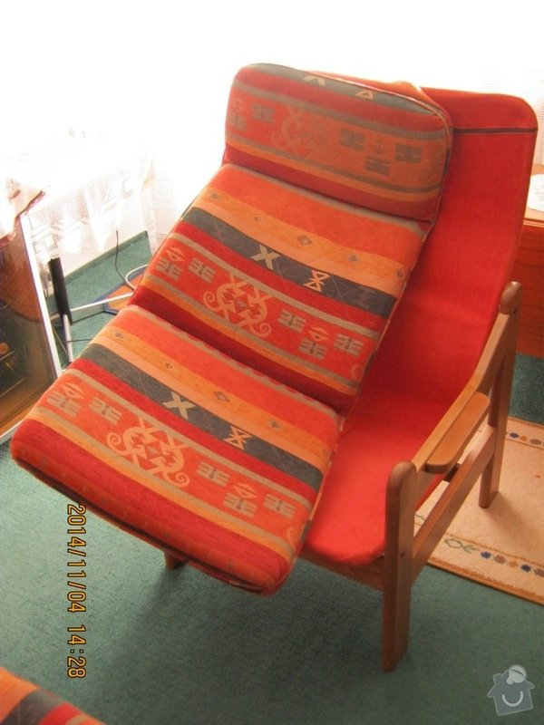 Čalounické práce (sedací souprava +2x křeslo) : c.7