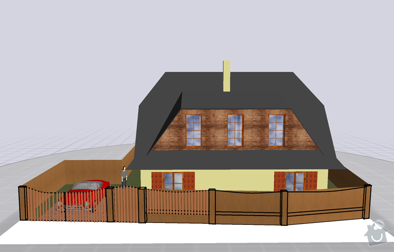 Stavba plotu: Plot_s_drevem