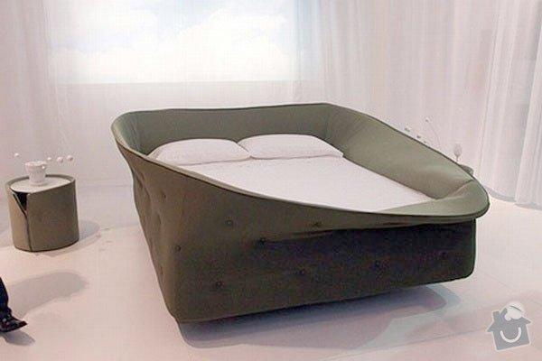 Výroba atypické čalouněné postele: colletto3