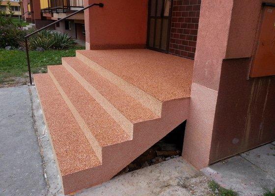 Oprava schodů