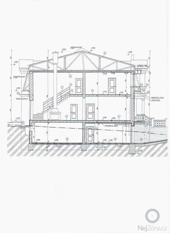 Podbití střechy podkladem Siding: strecha_002