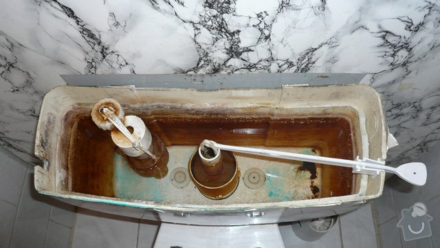 Výměna nádržky na WC Kombi: Kombi2