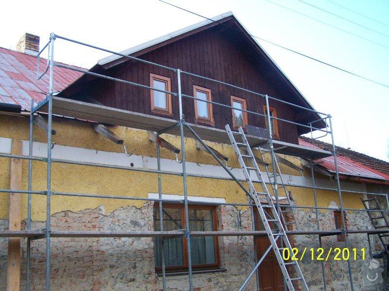 Zateplení systém ECORAW , střecha na stodole: 100_1438