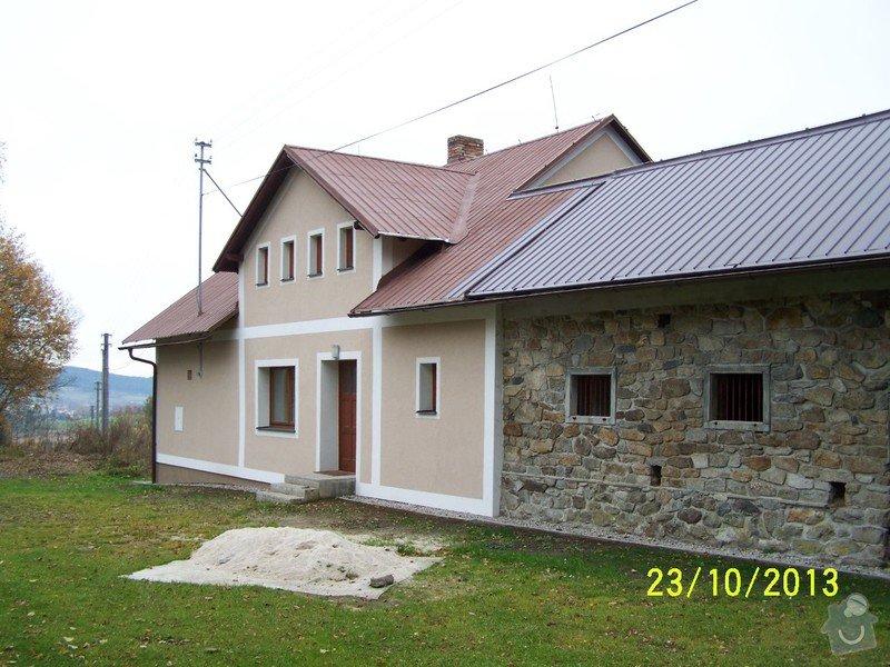 Zateplení systém ECORAW , střecha na stodole: 100_1876