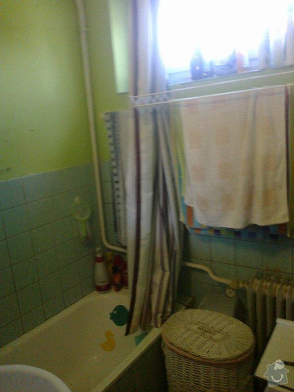 Výměna vany za sprchový kout: pred