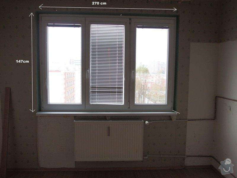 Výměnít 2 radiátory : okno_loznice