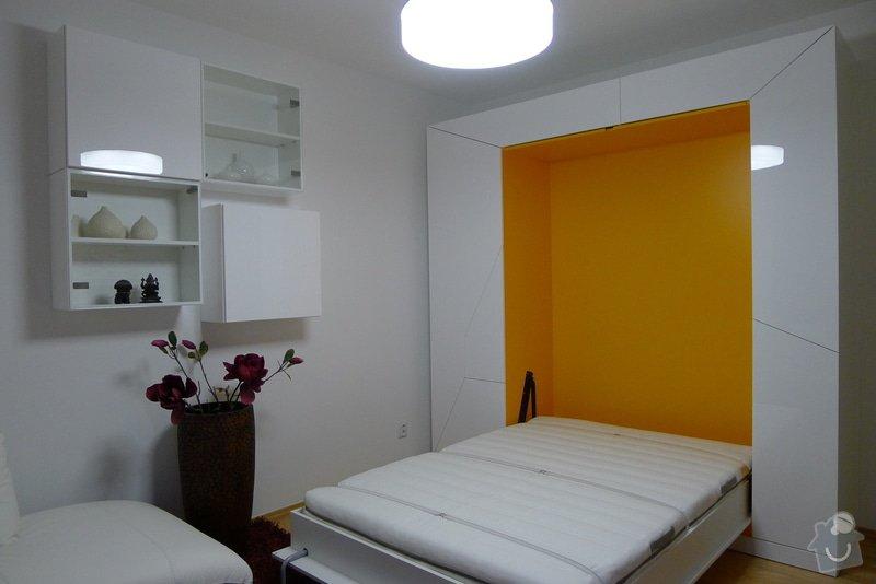 Šatní skříň s výklopnou postelí: 4.11_Otevreny_stav