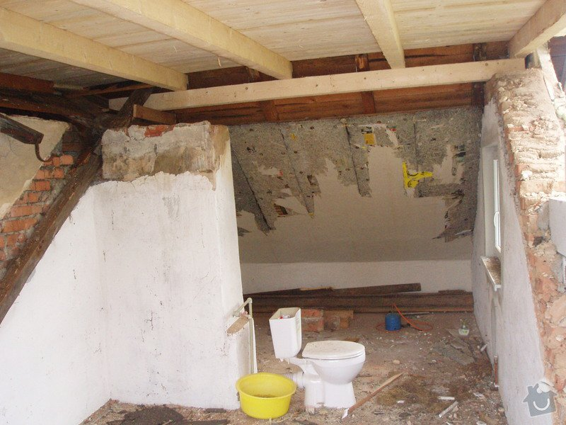 Sadrokartonový strop: P1010103