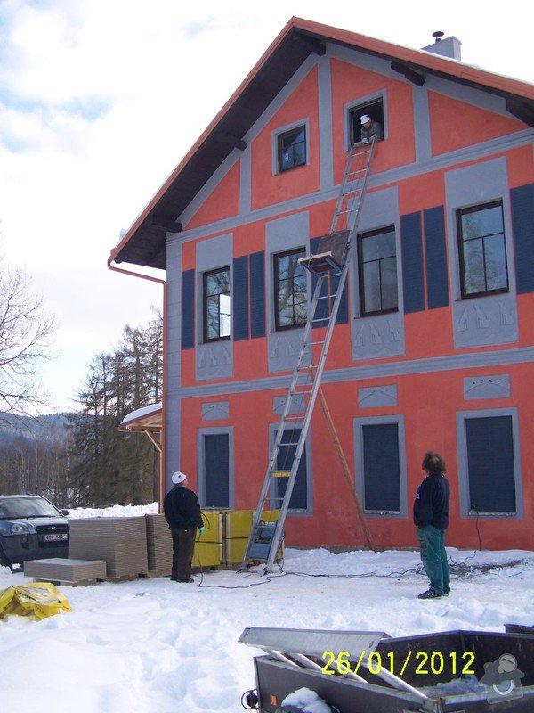 Půdní vestavba apartmanů v pensionu: 100_1483
