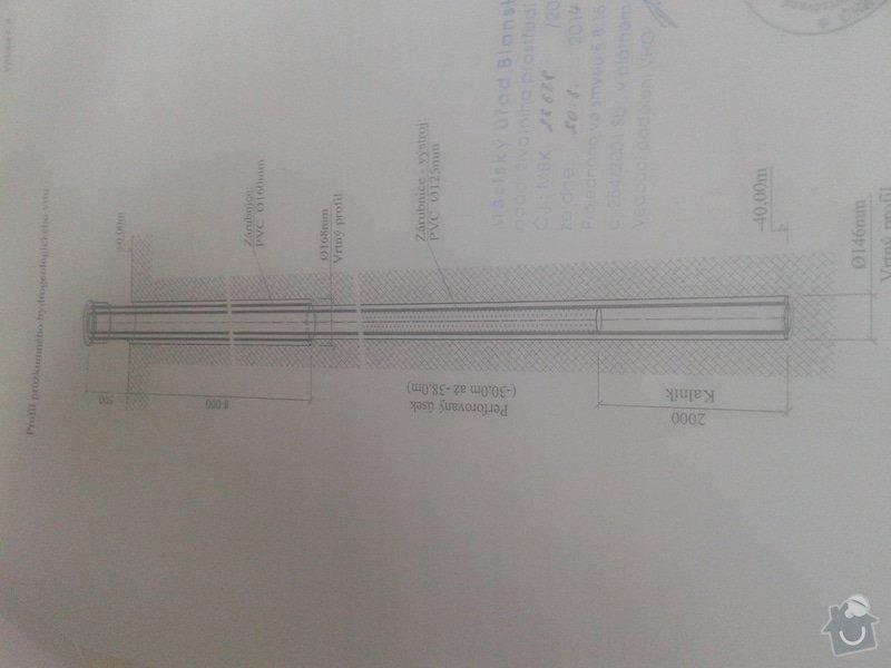 Instalatérské práce, zhotovení hlubiného čerpadla : studna_20141109_135041