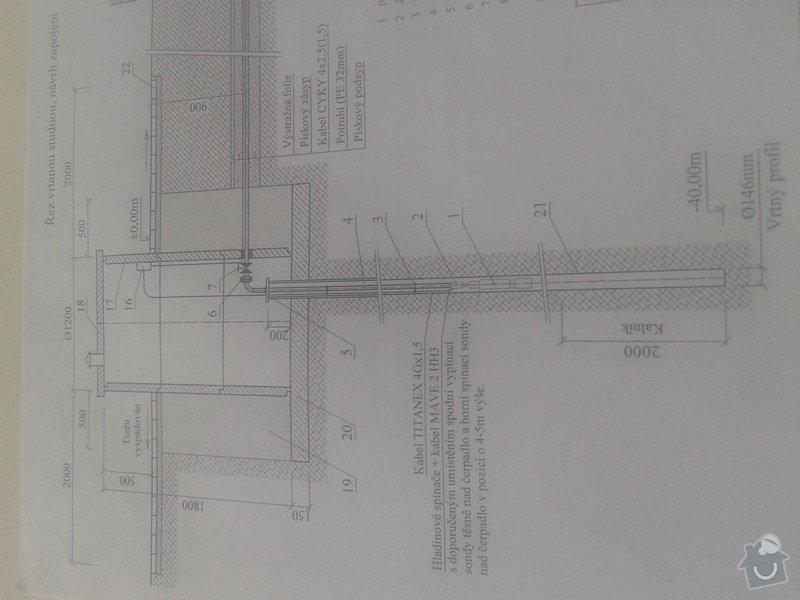 Instalatérské práce, zhotovení hlubiného čerpadla : studna_20141109_135226