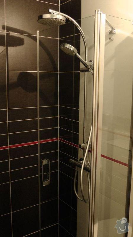Rekonstrukce koupelny : 208-02