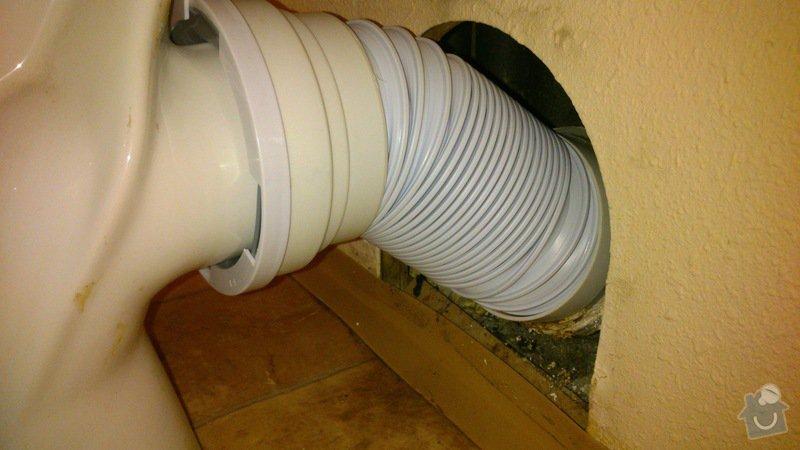 Oprava netěsnícího odpadu u WC: DSC_0304