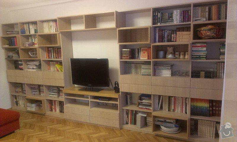 Vestavná skříň a obývací stěna: IMAG0150