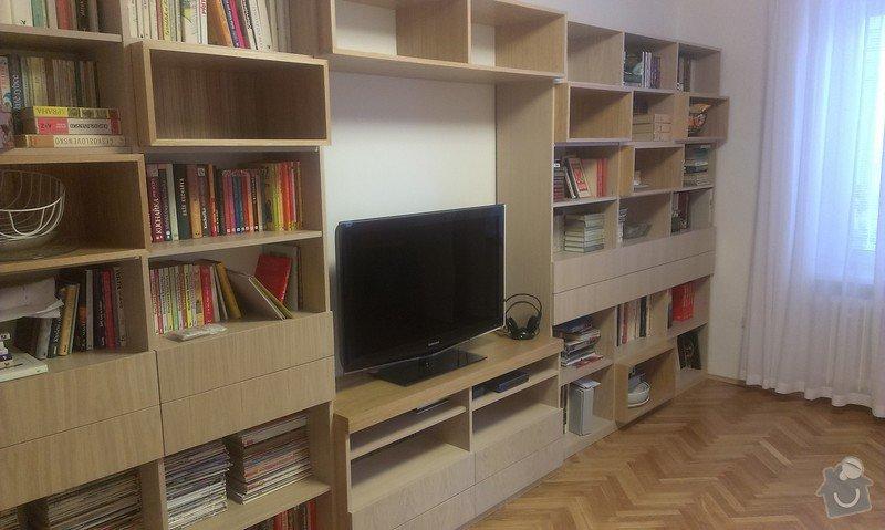 Vestavná skříň a obývací stěna: IMAG0152
