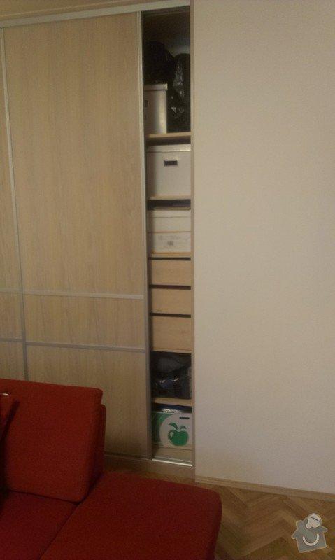 Vestavná skříň a obývací stěna: IMAG0153