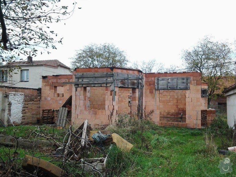 Výstavbu střechy: 20141024_142230
